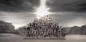 A Imagem da besta e a pirâmide de satanás