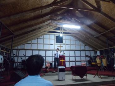 Iglesia Metodista en Pinto - Chile
