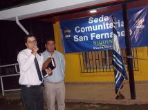 Evangelismo - Inag base esportiva en Com. San Fernando - Chile
