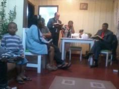 Culto no lar Oswaldo Cruz